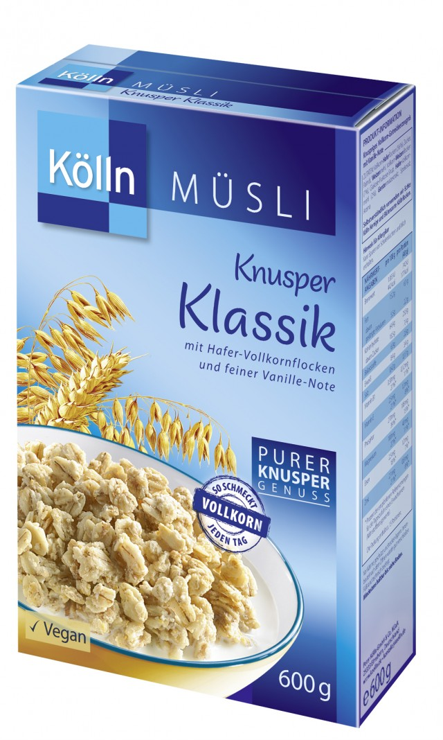 Kölln® Knusper Klassik Müsli