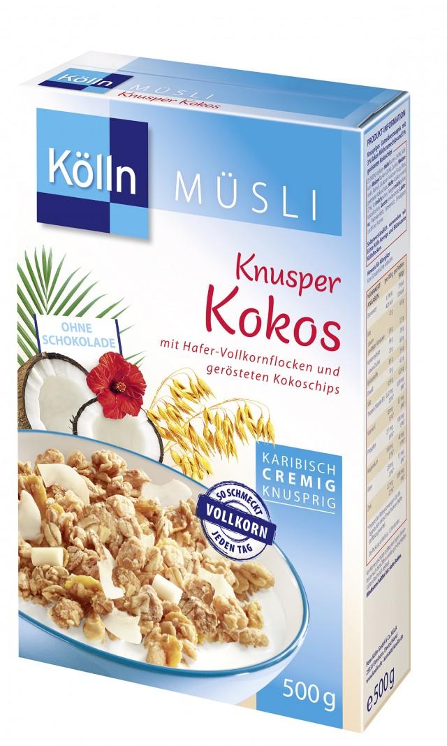 Kölln® Knusper Kokos Müsli