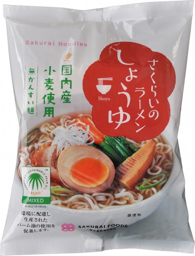 Sakurai Noodles (Soy sauce flavor)