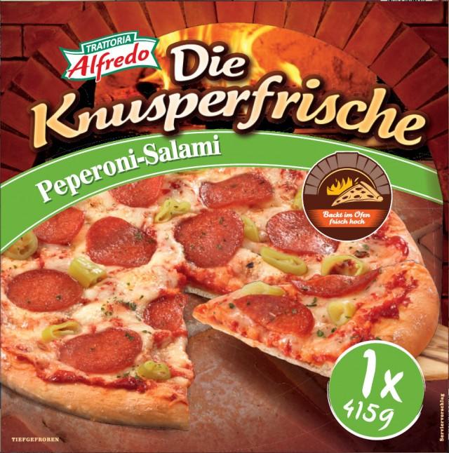 Trattoria Alfredo Die Knusperfrische Peperoni-Salami