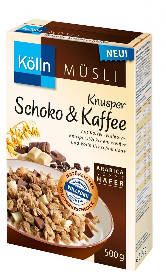 Kölln® Knusper Schoko Kaffee Müsli