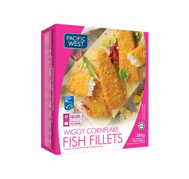 Wiggy Cornflake Fish Fillets