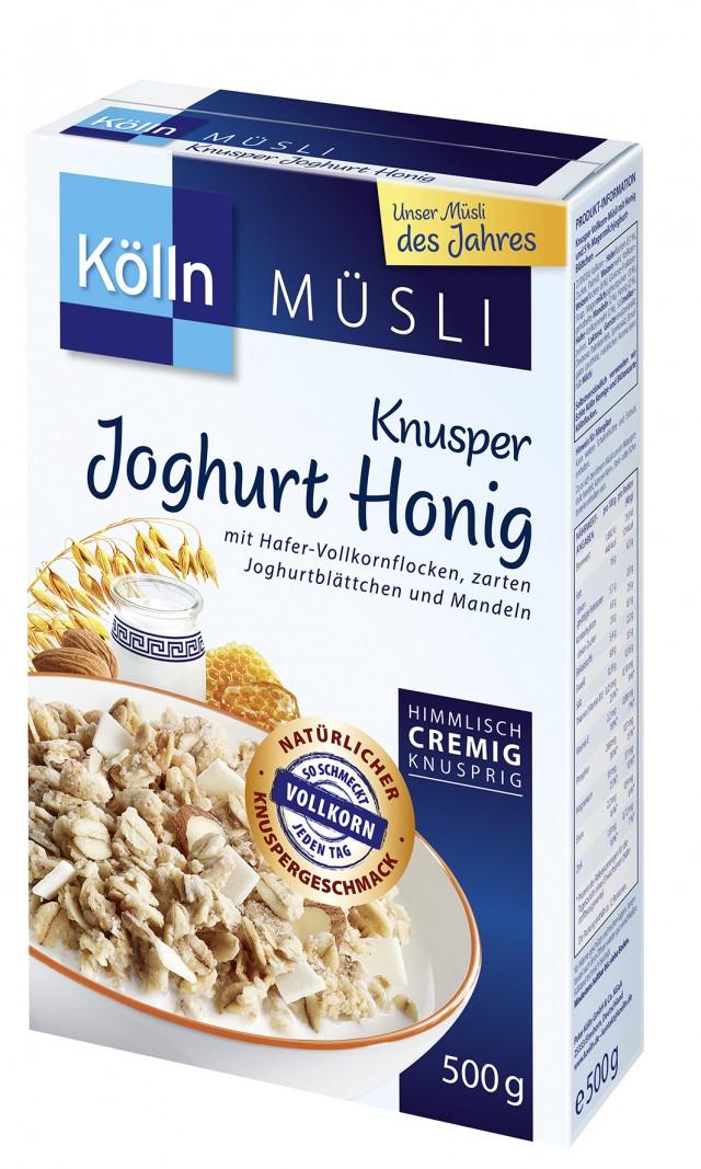 Kölln® Knusper Joghurt Honig Müsli