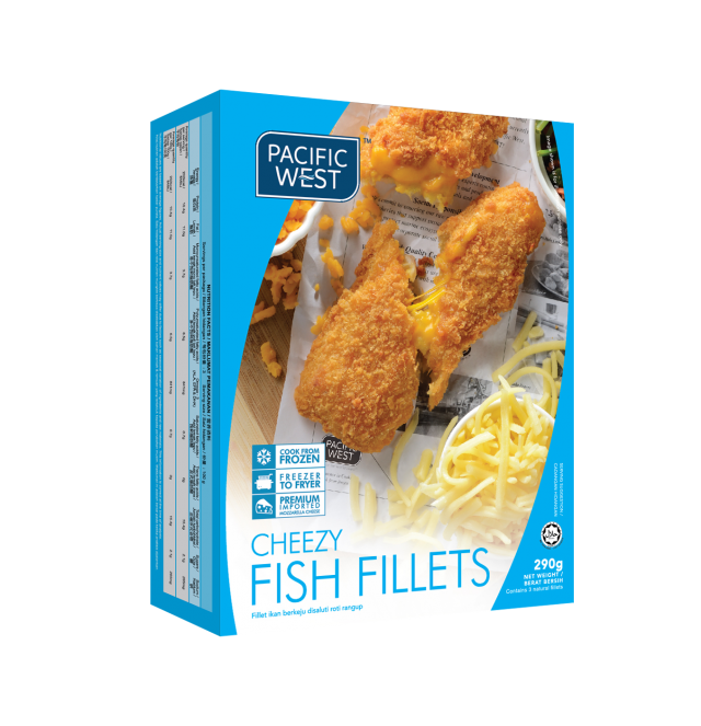 Cheezy Fish Fillets
