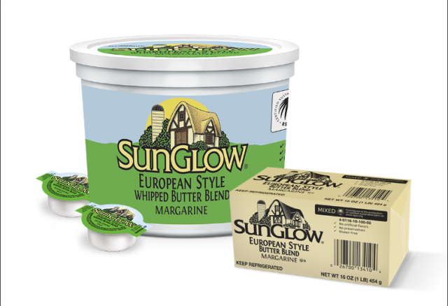 Sunglow European Style Whipped Butter Blend Margarine