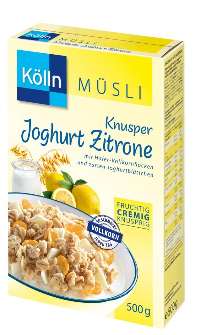 Kölln® Knusper Joghurt-Zitrone Müsli
