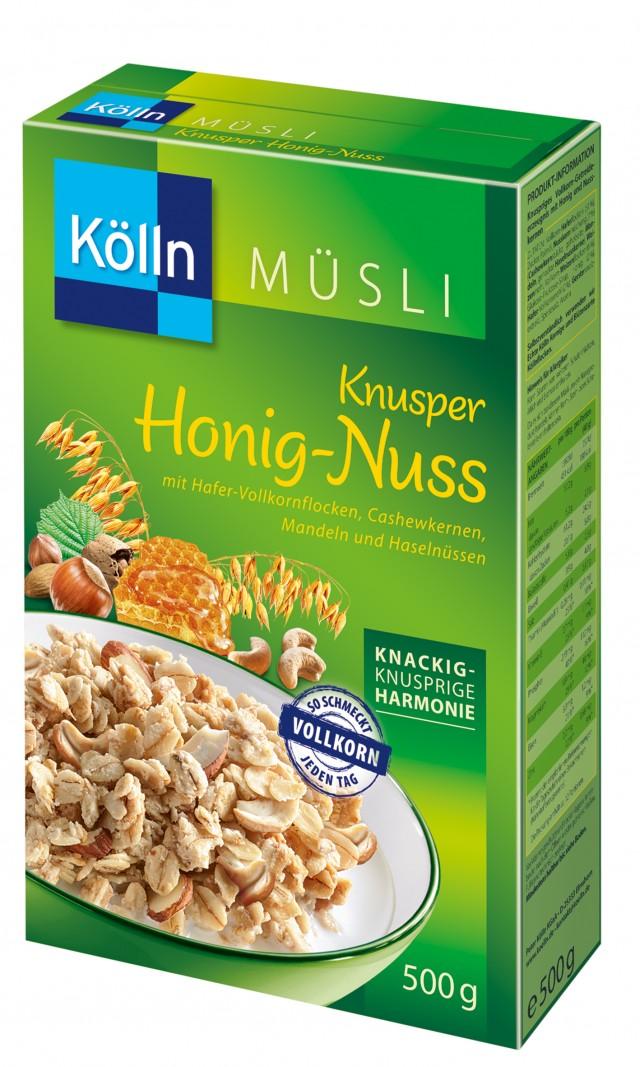 Kölln® Knusper Honig-Nuss Müsli