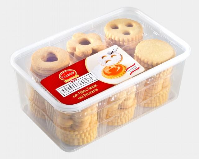 Gaber Mürbteigkekse (GABER Shortbread Biscuits)
