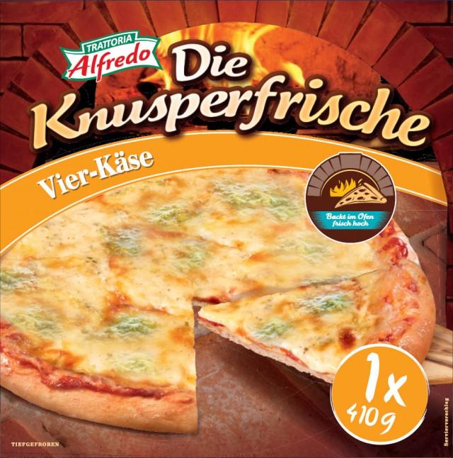 Trattoria Alfredo Die Knusperfrische Vier-Käse