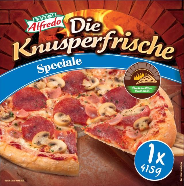 Trattoria Alfredo Die Knusperfrische Speciale
