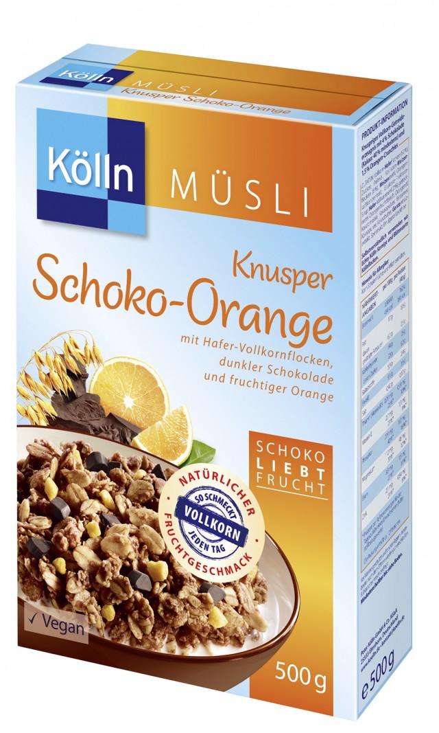 Kölln® Knusper Schoko-Orange Müsli