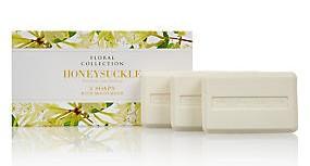 M&S Floral Collection Soap - Honey